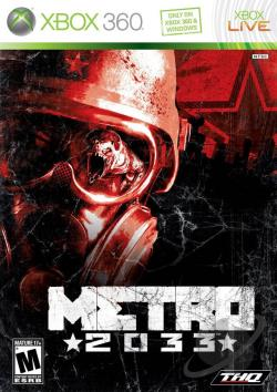 Metro 2033 XB360 Cover Art