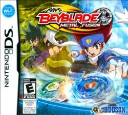 Beyblade: Metal Fusion NDS Cover Art