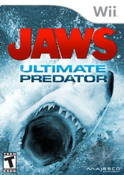 Jaws: Ultimate Predator WII Cover Art