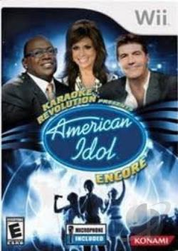 America Idol 2 Karaoke Rev WII Cover Art