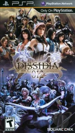 Dissidia 012 Final Fantasy PSP Cover Art