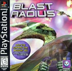 Blast Radius PS Cover Art