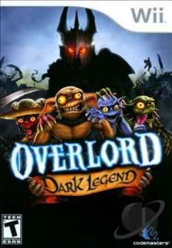 Overlord: Dark Legend WII Cover Art