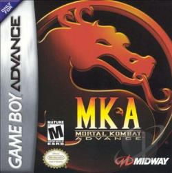 Mortal Kombat Advance GBA Cover Art