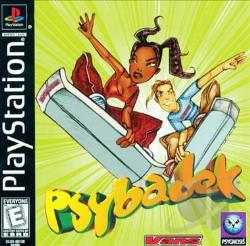 Psybadek PS Cover Art