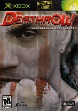 Deathrow: Underground Team Combat XB Cover Art