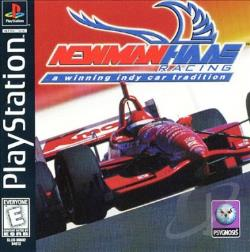 Newman Haas Racing PS Cover Art
