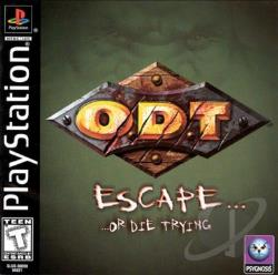 O.D.T.: Escape... ...Or Die Trying PS Cover Art