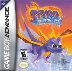 Spyro: Season of Ice GBA Cover Art