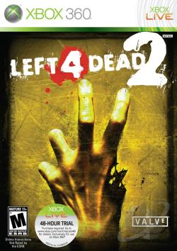 Left 4 Dead 2 XB360 Cover Art