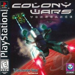 Colony Wars: Vengeance PS Cover Art