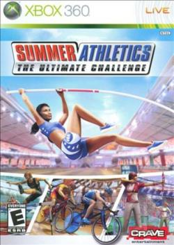 Summer Athletics: The Ultimate Challenge XB360 Cover Art