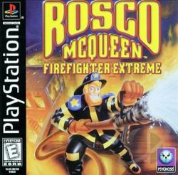 Rosco McQueen: Firefighter Extreme PS Cover Art