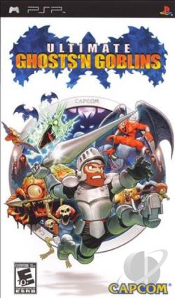 Ultimate Ghosts 'N Goblins PSP Cover Art