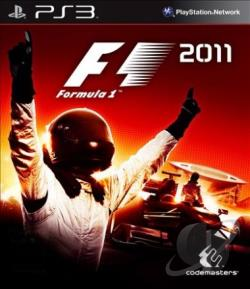 F1 2011 PS3 Cover Art