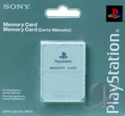 PS1 Memory Card PS Cover Art