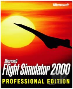 Ms Flight Sim 2000 Pro W98 Cover Art