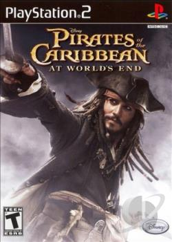 Pirates of the Caribbean: At World's End PS2 Cover Art