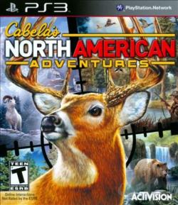 Cabela's North American Adventures PS3 Cover Art