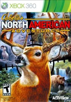 Cabela's North American Adventures XB360 Cover Art