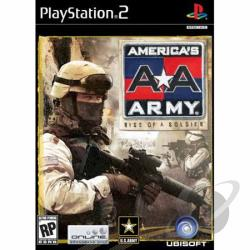 America's Army: Rise Of A Sold PS2 Cover Art