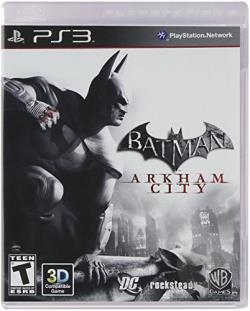 Batman: Arkham City PS3 Cover Art