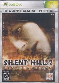 Silent Hill 2: Restless Dreams XB Cover Art