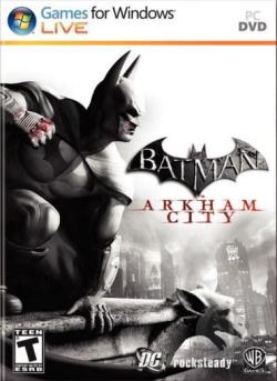 Batman: Arkham City PCG Cover Art