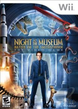 Night At The Museum: Battle Of The Smithsonian WII Cover Art
