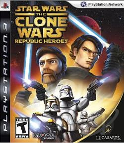 Star Wars: Clone Wars Republic Heroes PS3 Cover Art
