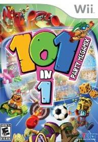 101-in-1 Party Megamix WII Cover Art