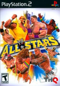 WWE All Stars PS2 Cover Art