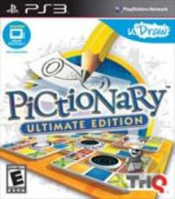 Pictionary: Ultimate Edition PS3 Cover Art