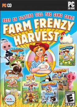 Farm Frenzy Harvest PCG Cover Art