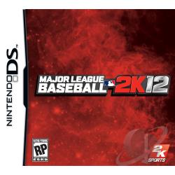 Major League Baseball 2K12 NDS Cover Art