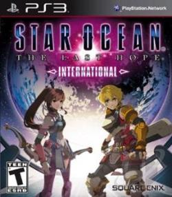 Star Ocean: The Last Hope -- International PS3 Cover Art