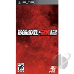 Major League Baseball 2K12 PSP Cover Art