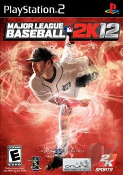 Major League Baseball 2K12 PS2 Cover Art