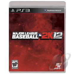 Major League Baseball 2K12 PS3 Cover Art