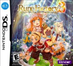 Rune Factory 3: A Fantasy Harvest Moon NDS Cover Art