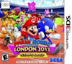 Mario & Sonic at the London 2012 Olympic Games 3DS Cover Art
