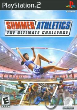 Summer Athletics: The Ultimate Challenge PS2 Cover Art
