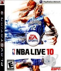NBA Live 10 PS3 Cover Art
