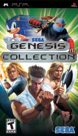 Sega Genesis Collection PSP Cover Art