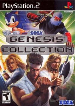 Sega Genesis Collection PS2 Cover Art