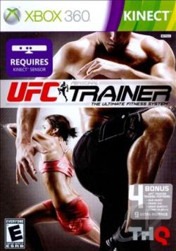 UFC Personal Trainer: Ultimate Fitness System XB360 Cover Art