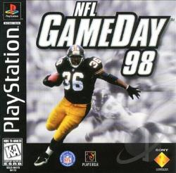 NFL Gameday 98 PS Cover Art
