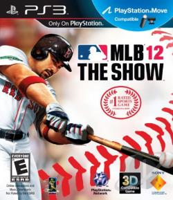MLB 12: The Show PS3 Cover Art