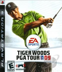 Tiger Woods PGA Golf Tour 09 PS3 Cover Art