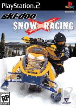 Ski Doo SnowXRacing PS2 Cover Art